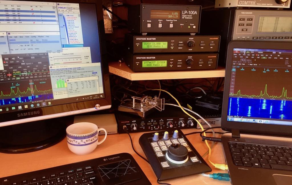 IARU SO2R SDR PRO Setup @SE0X