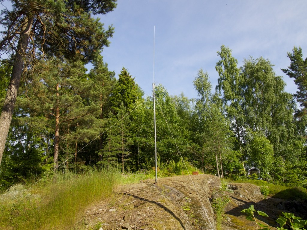 The Clifton Labs active antenna at SE0X.