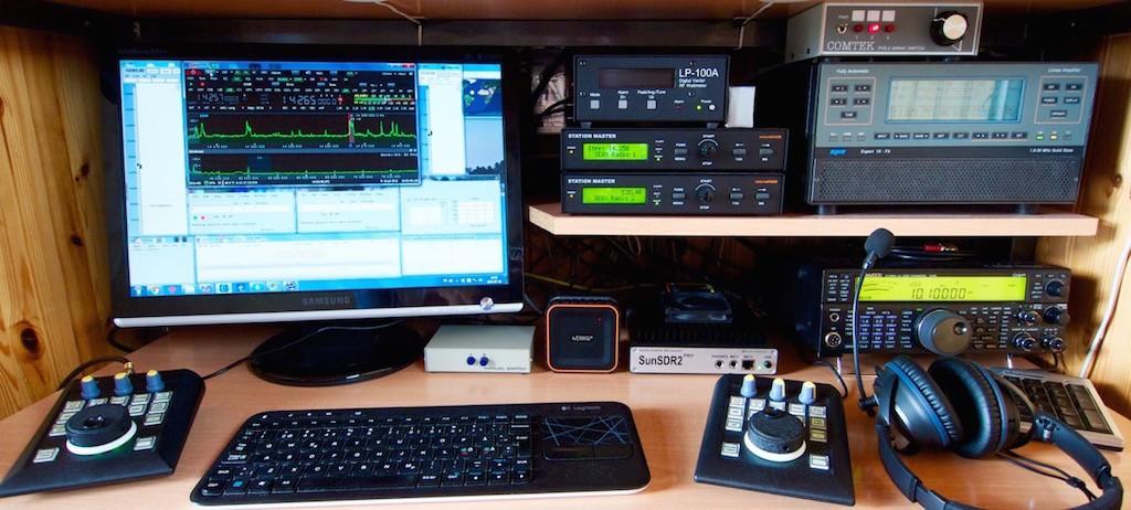 Operating desk at SE0X